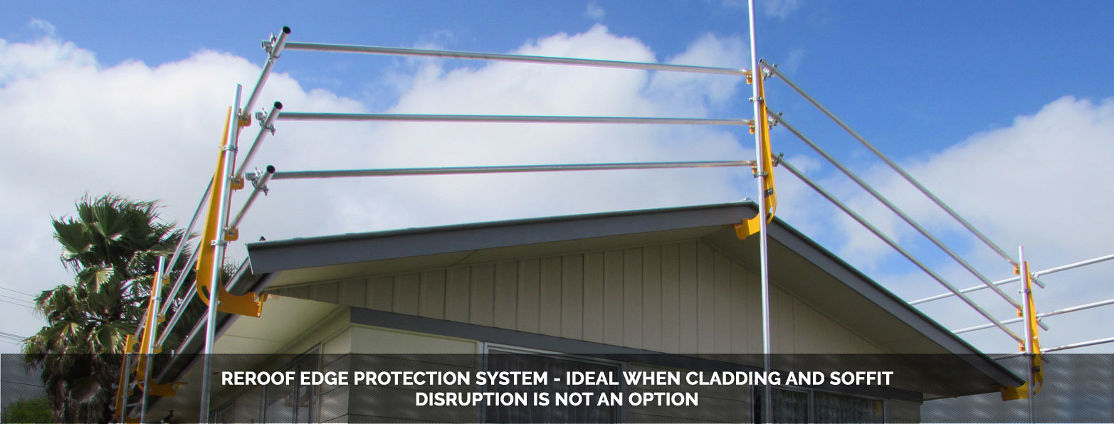 Scaffolding Hire Auckland Roof Edge Protection Brackets Nz