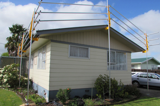 Roof Guardrail Systems Nz Made Roof Scaffolding Nz